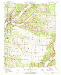 Download a high-resolution, GPS-compatible USGS topo map for Seneca, MO (1970 edition)