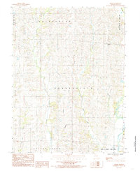 Download a high-resolution, GPS-compatible USGS topo map for Shelby, MO (1985 edition)