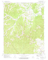 Download a high-resolution, GPS-compatible USGS topo map for Shell Knob, MO (1977 edition)