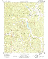 Download a high-resolution, GPS-compatible USGS topo map for Shirley, MO (1986 edition)