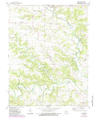 Download a high-resolution, GPS-compatible USGS topo map for Silex, MO (1985 edition)