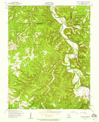 Download a high-resolution, GPS-compatible USGS topo map for Slabtown Spring, MO (1959 edition)