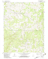 Download a high-resolution, GPS-compatible USGS topo map for Smallett, MO (1983 edition)
