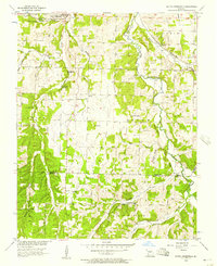 Download a high-resolution, GPS-compatible USGS topo map for South Greenfield, MO (1957 edition)
