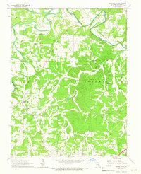 Download a high-resolution, GPS-compatible USGS topo map for Spring Bluff, MO (1967 edition)