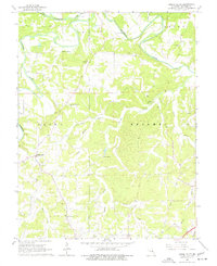 Download a high-resolution, GPS-compatible USGS topo map for Spring Bluff, MO (1977 edition)