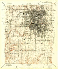 Download a high-resolution, GPS-compatible USGS topo map for Springfield, MO (1935 edition)