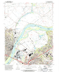 Download a high-resolution, GPS-compatible USGS topo map for St Charles, MO (1995 edition)