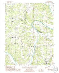 Download a high-resolution, GPS-compatible USGS topo map for St Elizabeth, MO (1988 edition)