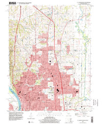 Download a high-resolution, GPS-compatible USGS topo map for St Joseph North, MO (2001 edition)