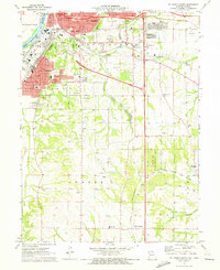 Download a high-resolution, GPS-compatible USGS topo map for St Joseph South, MO (1973 edition)