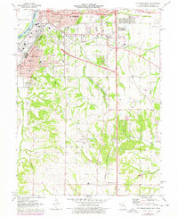 Download a high-resolution, GPS-compatible USGS topo map for St Joseph South, MO (1978 edition)