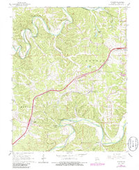 Download a high-resolution, GPS-compatible USGS topo map for Stanton, MO (1986 edition)