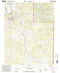 Download a high-resolution, GPS-compatible USGS topo map for Steelville, MO (2002 edition)