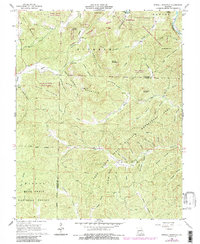Download a high-resolution, GPS-compatible USGS topo map for Stegall Mountain, MO (1985 edition)