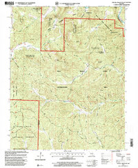Download a high-resolution, GPS-compatible USGS topo map for Stegall Mountain, MO (2000 edition)