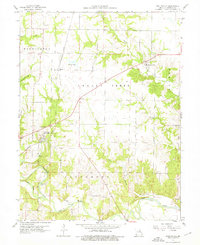 Download a high-resolution, GPS-compatible USGS topo map for Stoutsville, MO (1976 edition)