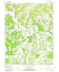 Download a high-resolution, GPS-compatible USGS topo map for Strain, MO (1980 edition)