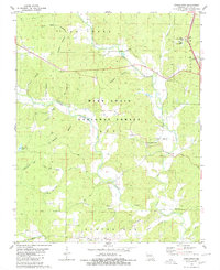 Download a high-resolution, GPS-compatible USGS topo map for Stringtown, MO (1980 edition)
