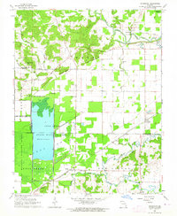 Download a high-resolution, GPS-compatible USGS topo map for Sturdivant, MO (1964 edition)