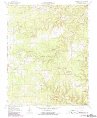 Download a high-resolution, GPS-compatible USGS topo map for Summersville NE, MO (1985 edition)