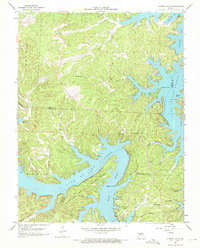 Download a high-resolution, GPS-compatible USGS topo map for Sunrise Beach, MO (1972 edition)