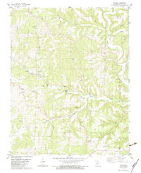 Download a high-resolution, GPS-compatible USGS topo map for Sweden, MO (1983 edition)