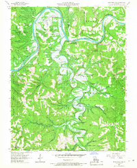 Download a high-resolution, GPS-compatible USGS topo map for Table Rock Dam, MO (1968 edition)