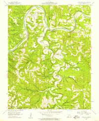 Download a high-resolution, GPS-compatible USGS topo map for Table Rock Dam, MO (1957 edition)