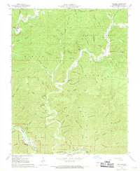Download a high-resolution, GPS-compatible USGS topo map for The Sinks, MO (1969 edition)