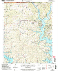 Download a high-resolution, GPS-compatible USGS topo map for Theodosia, MO (2006 edition)