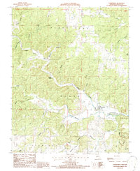 Download a high-resolution, GPS-compatible USGS topo map for Thomasville, MO (1987 edition)