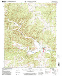 Download a high-resolution, GPS-compatible USGS topo map for Thomasville, MO (2000 edition)