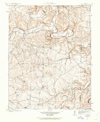 Download a high-resolution, GPS-compatible USGS topo map for Tiff, MO (1962 edition)