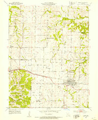 Download a high-resolution, GPS-compatible USGS topo map for Tipton, MO (1953 edition)