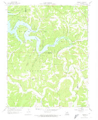 Download a high-resolution, GPS-compatible USGS topo map for Toronto, MO (1974 edition)