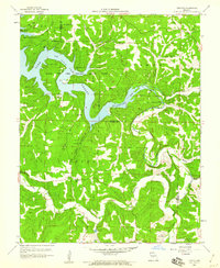 Download a high-resolution, GPS-compatible USGS topo map for Toronto, MO (1960 edition)