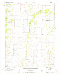 Download a high-resolution, GPS-compatible USGS topo map for Tulip, MO (1960 edition)
