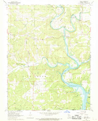 Download a high-resolution, GPS-compatible USGS topo map for Udall, MO (1969 edition)