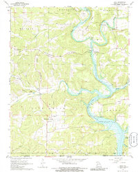 Download a high-resolution, GPS-compatible USGS topo map for Udall, MO (1986 edition)