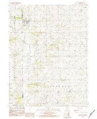 Download a high-resolution, GPS-compatible USGS topo map for Union Star, MO (1984 edition)