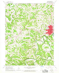 Download a high-resolution, GPS-compatible USGS topo map for Union, MO (1967 edition)