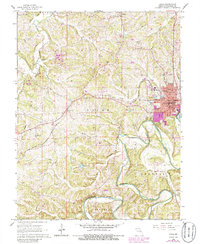 Download a high-resolution, GPS-compatible USGS topo map for Union, MO (1986 edition)