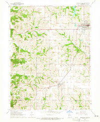Download a high-resolution, GPS-compatible USGS topo map for Unionville West, MO (1965 edition)