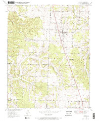 Download a high-resolution, GPS-compatible USGS topo map for Urbana, MO (1967 edition)