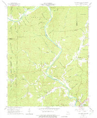 Download a high-resolution, GPS-compatible USGS topo map for Van Buren North, MO (1975 edition)