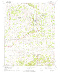 Download a high-resolution, GPS-compatible USGS topo map for Verona, MO (1973 edition)