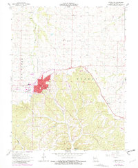 Download a high-resolution, GPS-compatible USGS topo map for Versailles, MO (1982 edition)