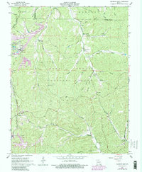 Download a high-resolution, GPS-compatible USGS topo map for Viburnum East, MO (1981 edition)