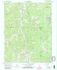 Download a high-resolution, GPS-compatible USGS topo map for Viburnum West, MO (1981 edition)